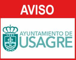 AVISO DEL AYUNTAMIENTO DE USAGRE